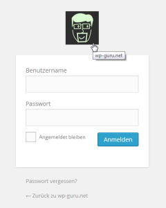 WordPress Login - Logo und Link anpassen