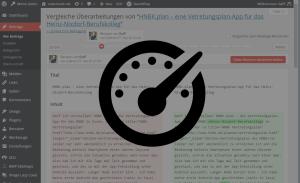 Anzahl der WordPress Revisionen begrenzen